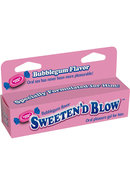 Sweeten D Blow Flavored Oral Pleasure Gel 1.5oz - Bubblegum